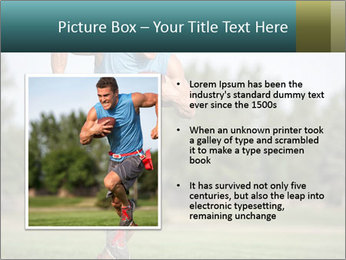 Guys playing flag PowerPoint Template - Slide 13
