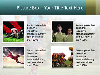 Guys playing flag PowerPoint Template - Slide 14