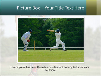 Guys playing flag PowerPoint Template - Slide 15