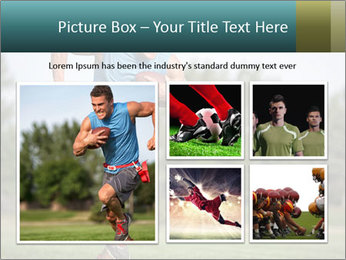 Guys playing flag PowerPoint Template - Slide 19