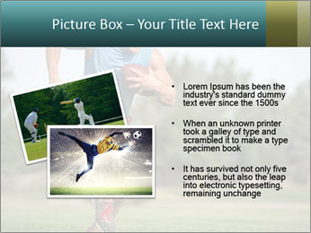 Guys playing flag PowerPoint Template - Slide 20