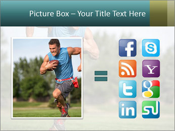 Guys playing flag PowerPoint Template - Slide 21
