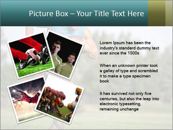 Guys playing flag PowerPoint Template - Slide 23