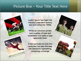 Guys playing flag PowerPoint Template - Slide 24