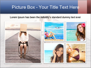 Woman sitting PowerPoint Templates - Slide 19
