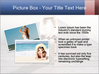 Woman sitting PowerPoint Templates - Slide 20