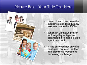 Unidentified people PowerPoint Templates - Slide 17