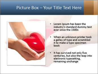 Heart in hands PowerPoint Templates - Slide 13