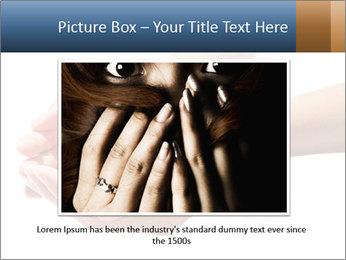 Heart in hands PowerPoint Templates - Slide 15
