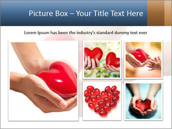 Heart in hands PowerPoint Templates - Slide 19
