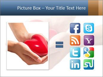 Heart in hands PowerPoint Templates - Slide 21