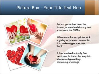Heart in hands PowerPoint Templates - Slide 23