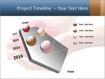 Heart in hands PowerPoint Templates - Slide 26