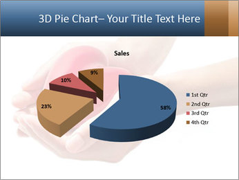 Heart in hands PowerPoint Templates - Slide 35