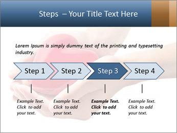 Heart in hands PowerPoint Templates - Slide 4