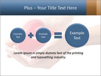 Heart in hands PowerPoint Templates - Slide 75