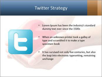 Heart in hands PowerPoint Templates - Slide 9