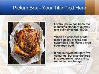Roasted chicken PowerPoint Templates - Slide 13