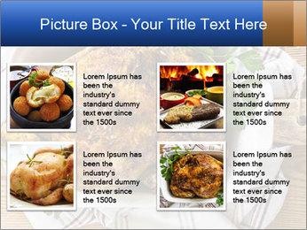 Roasted chicken PowerPoint Templates - Slide 14
