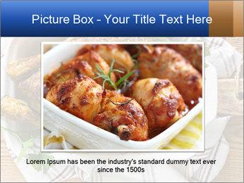 Roasted chicken PowerPoint Templates - Slide 15