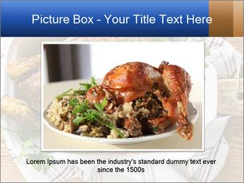 Roasted chicken PowerPoint Templates - Slide 16