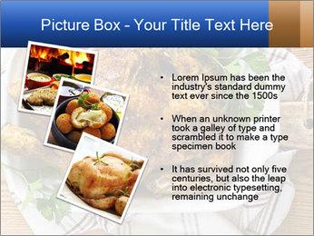 Roasted chicken PowerPoint Templates - Slide 17