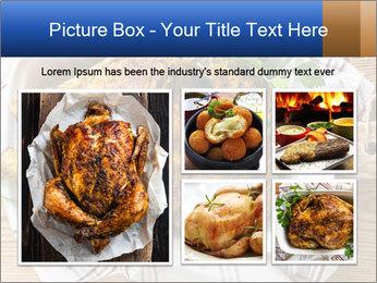 Roasted chicken PowerPoint Templates - Slide 19