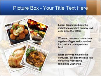 Roasted chicken PowerPoint Templates - Slide 23