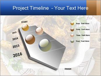 Roasted chicken PowerPoint Templates - Slide 26