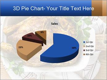 Roasted chicken PowerPoint Templates - Slide 35