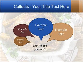 Roasted chicken PowerPoint Templates - Slide 73