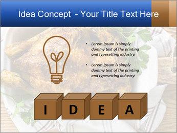Roasted chicken PowerPoint Templates - Slide 80