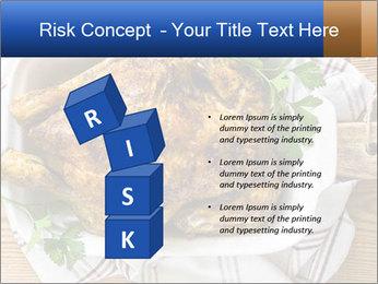 Roasted chicken PowerPoint Templates - Slide 81