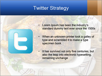 Roasted chicken PowerPoint Templates - Slide 9