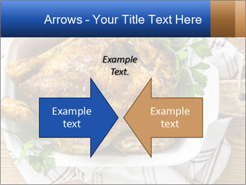 Roasted chicken PowerPoint Templates - Slide 90