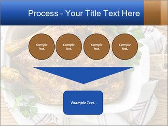Roasted chicken PowerPoint Templates - Slide 93