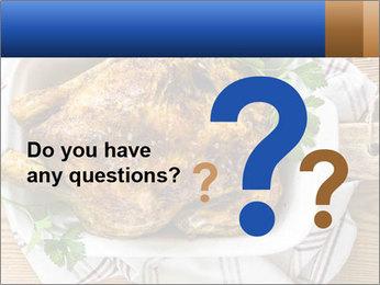 Roasted chicken PowerPoint Templates - Slide 96