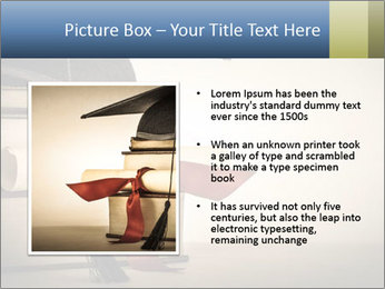 A mortarboard PowerPoint Templates - Slide 13