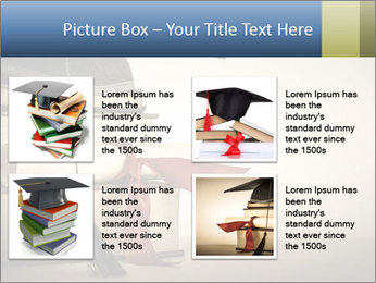 A mortarboard PowerPoint Templates - Slide 14