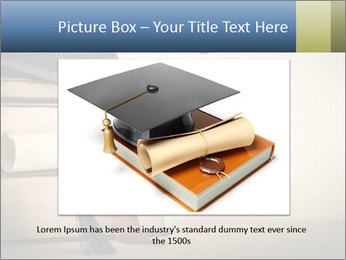 A mortarboard PowerPoint Templates - Slide 16