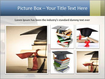 A mortarboard PowerPoint Templates - Slide 19