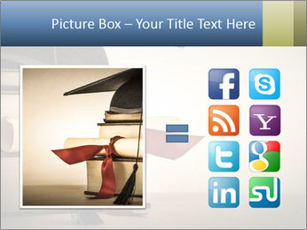 A mortarboard PowerPoint Templates - Slide 21