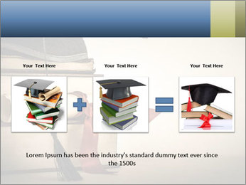 A mortarboard PowerPoint Templates - Slide 22