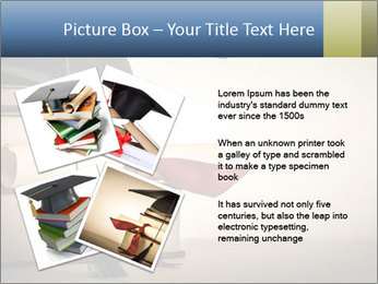 A mortarboard PowerPoint Templates - Slide 23