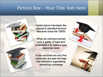 A mortarboard PowerPoint Templates - Slide 24