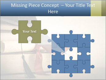 A mortarboard PowerPoint Templates - Slide 45