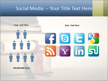 A mortarboard PowerPoint Templates - Slide 5