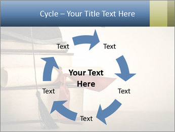 A mortarboard PowerPoint Templates - Slide 62