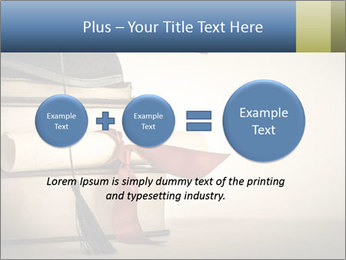 A mortarboard PowerPoint Templates - Slide 75