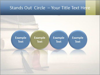 A mortarboard PowerPoint Templates - Slide 76